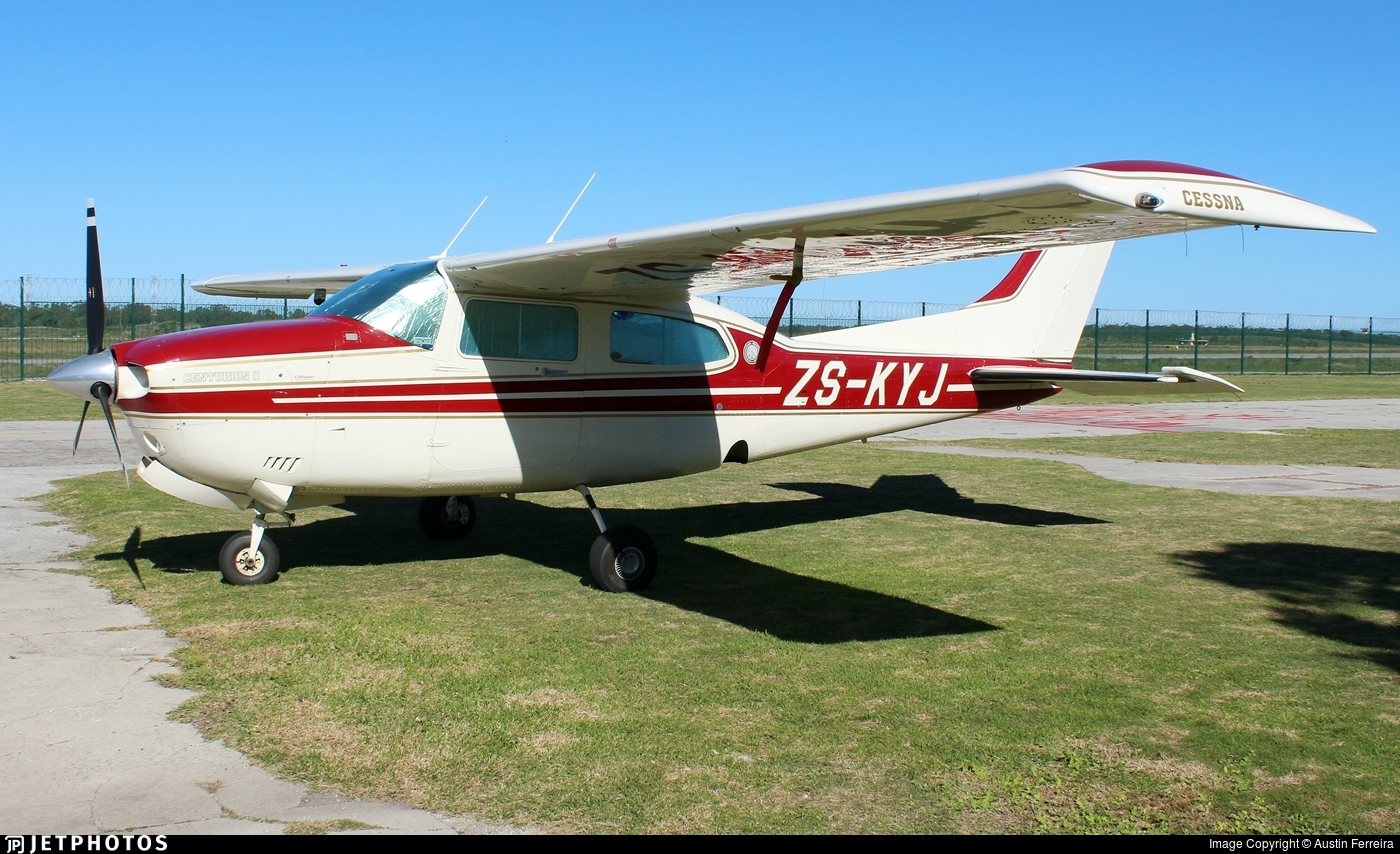 ZS-KYJ - Cessna T210N Turbo Centurion II - Private