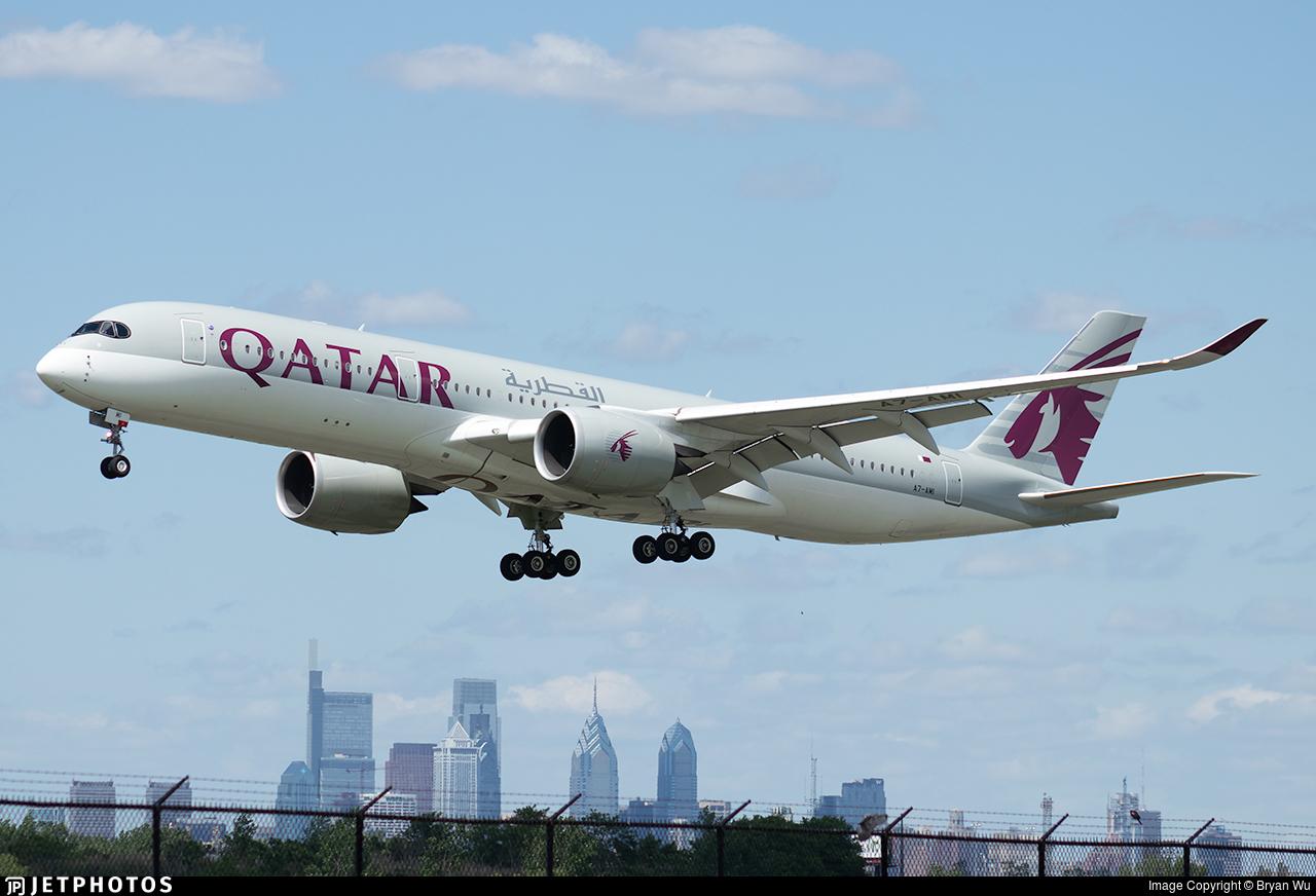 A7-AMI - Airbus A350-941 - Qatar Airways