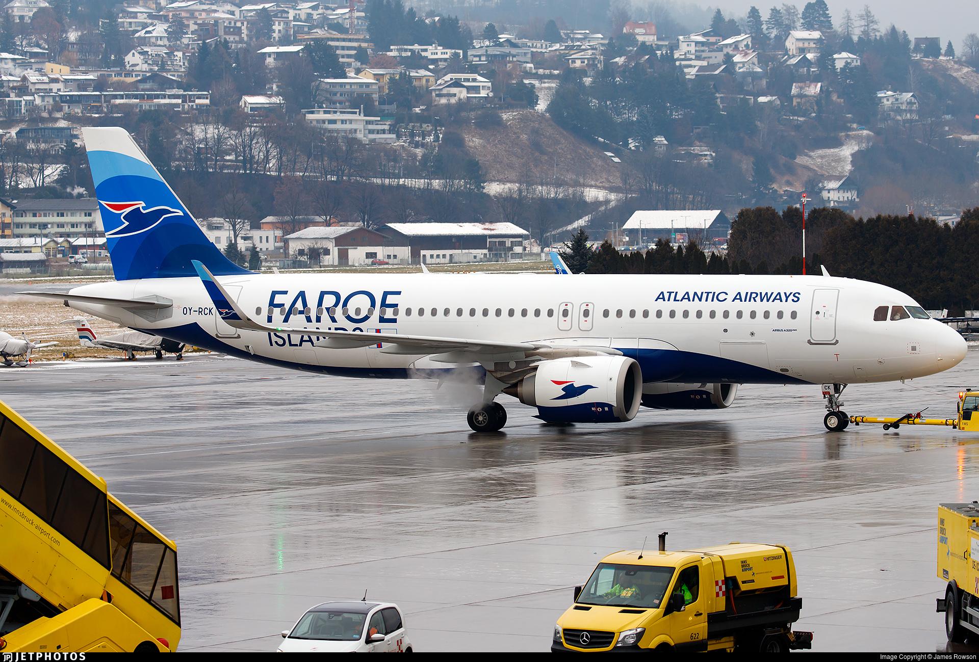 OY-RCK - Airbus A320-251N - Atlantic Airways