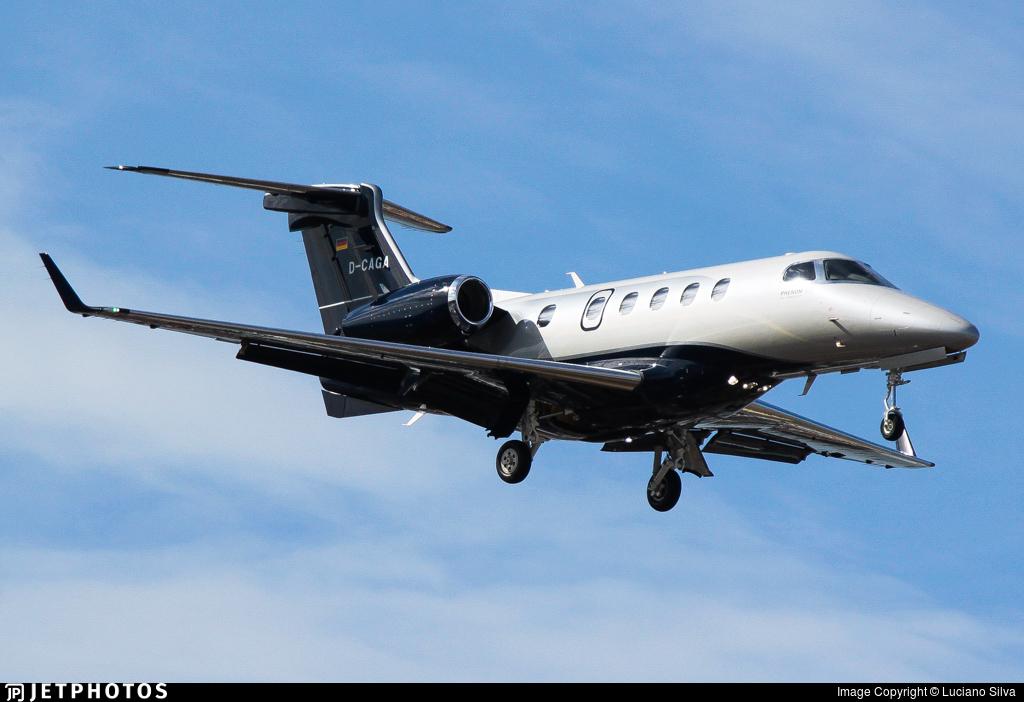 D-CAGA - Embraer 505 Phenom 300 - Luxaviation