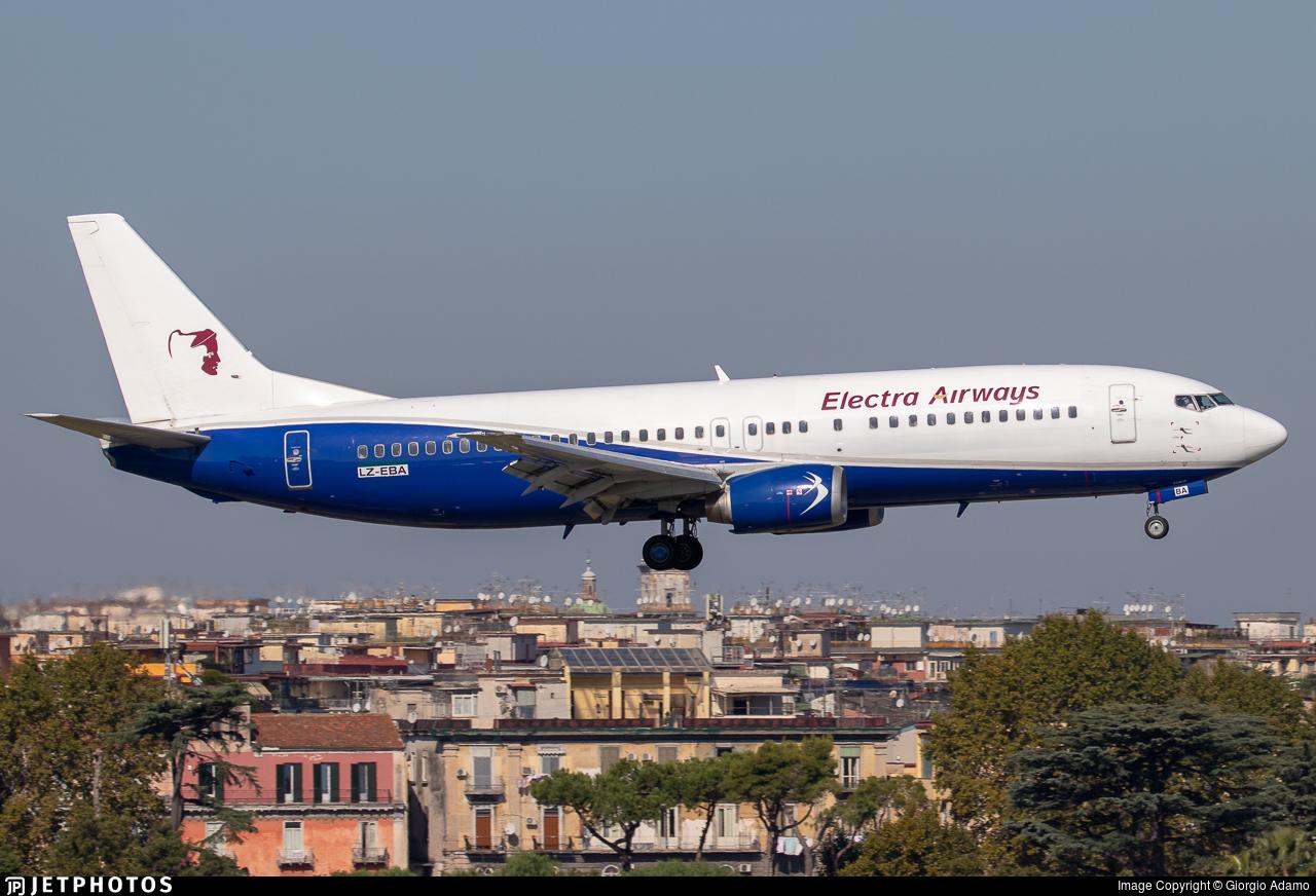 LZ-EBA - Boeing 737-46N - Electra Airways