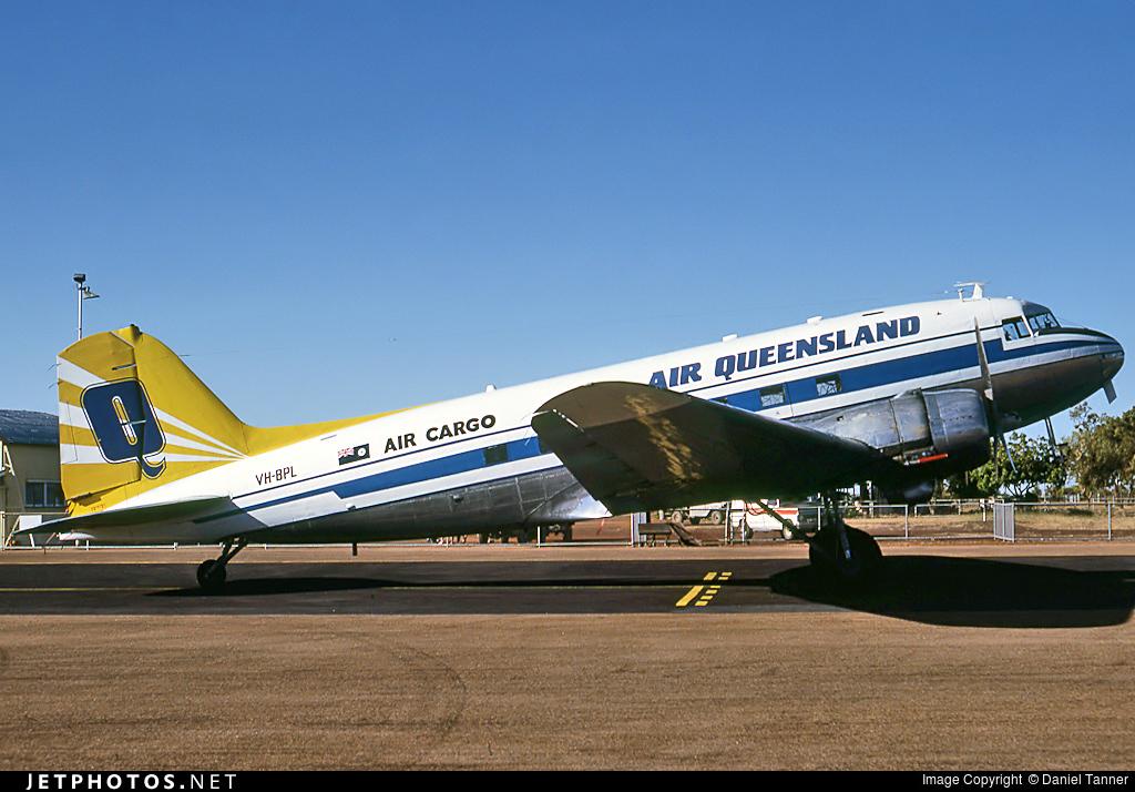 VH-BPL - Douglas C-47A Skytrain - Air Queensland
