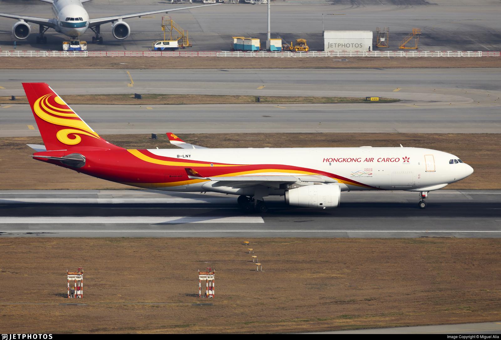 B-LNY - Airbus A330-243F - Hong Kong Airlines Cargo