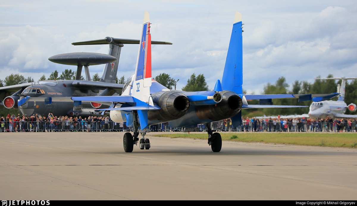 RF-81703 - Sukhoi Su-30SM - Russia - Air Force