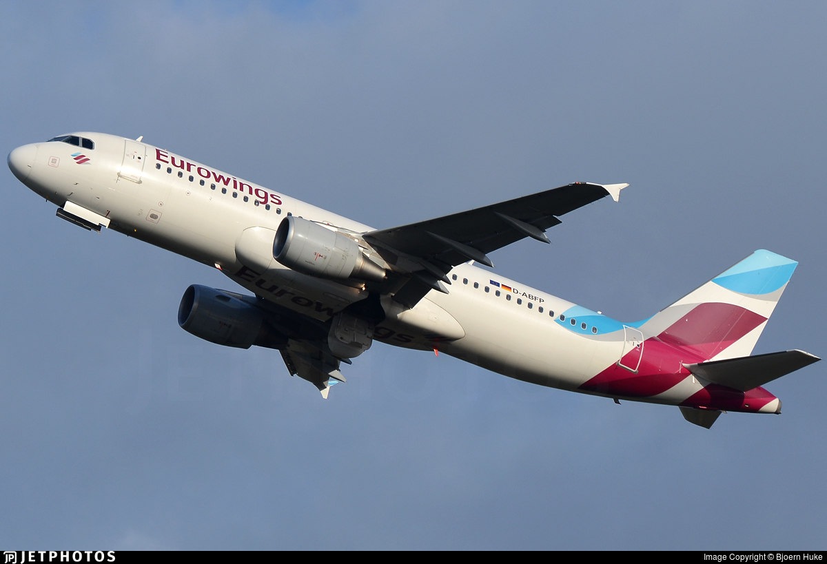 D-ABFP - Airbus A320-214 - Eurowings