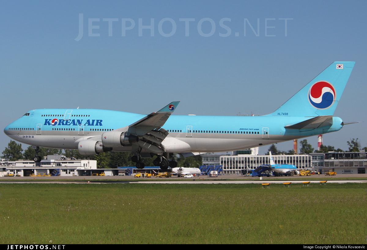 HL7498 - Boeing 747-4B5 - Korean Air