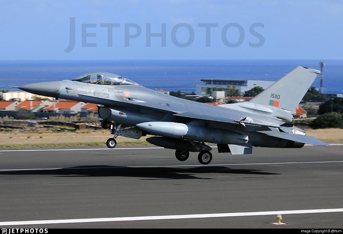15110 - General Dynamics F-16AM Fighting Falcon - Portugal - Air Force