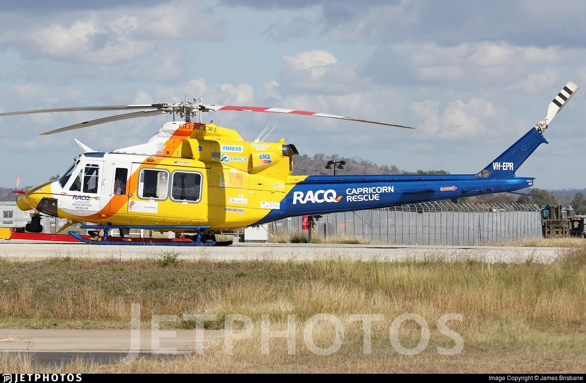 VH-EPR - Bell 412EP - Babcock Mission Critical Services Australasia