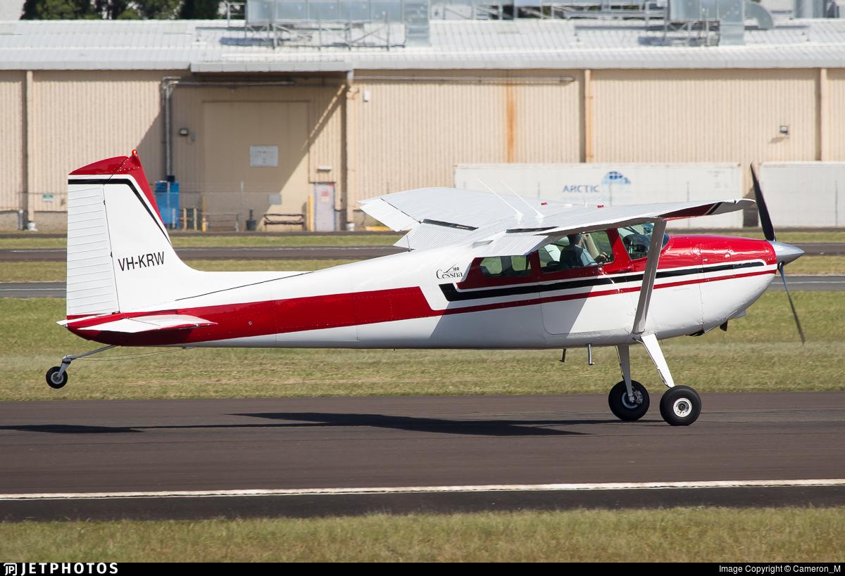 VH-KRW - Cessna 180 Skywagon - Private