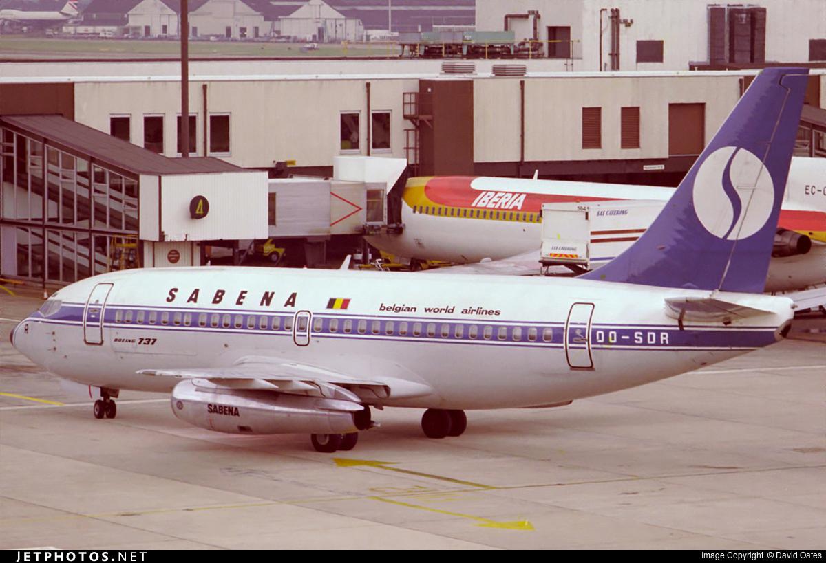 OO-SDR - Boeing 737-229C(Adv) - Sabena