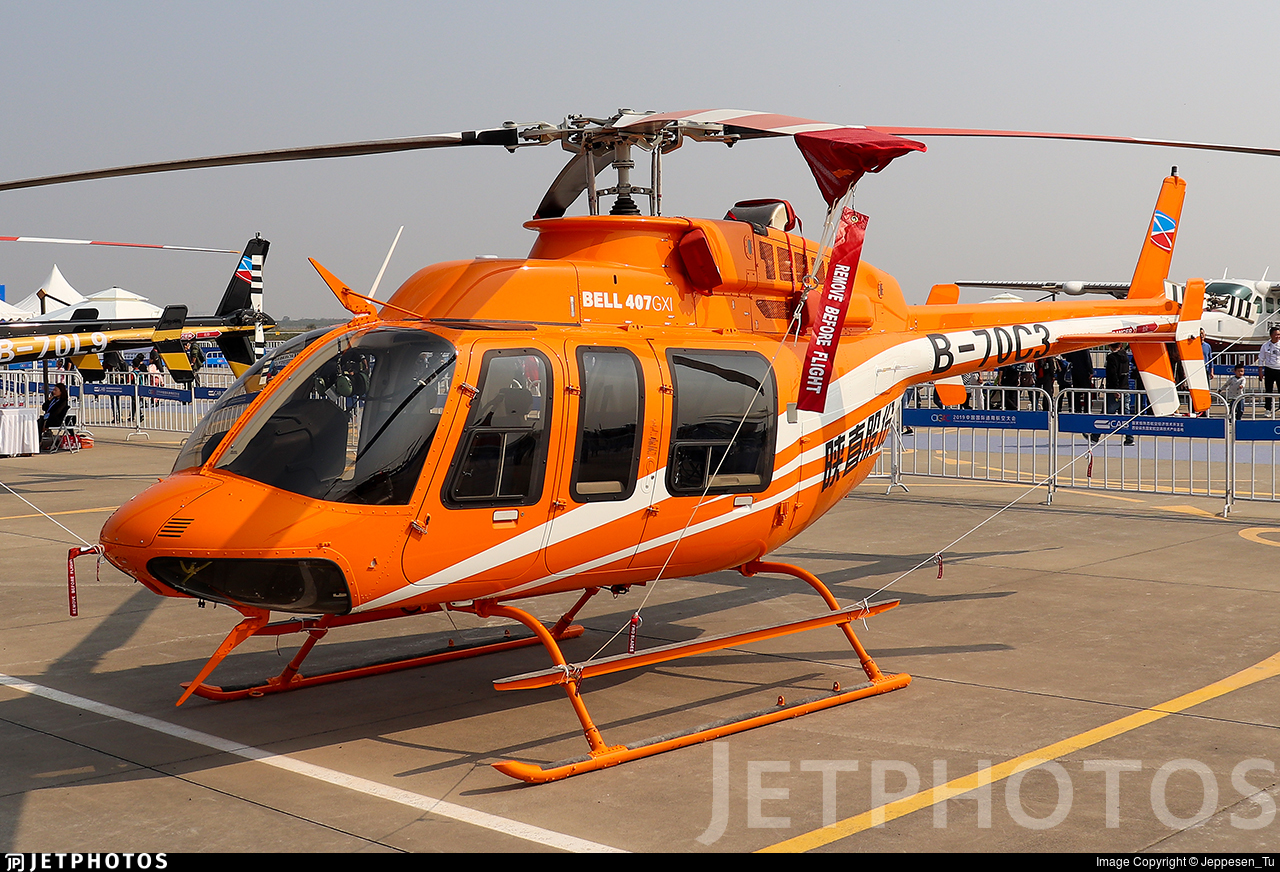 B-70C3 - Bell 407GXI - Shaanxi Helicopter