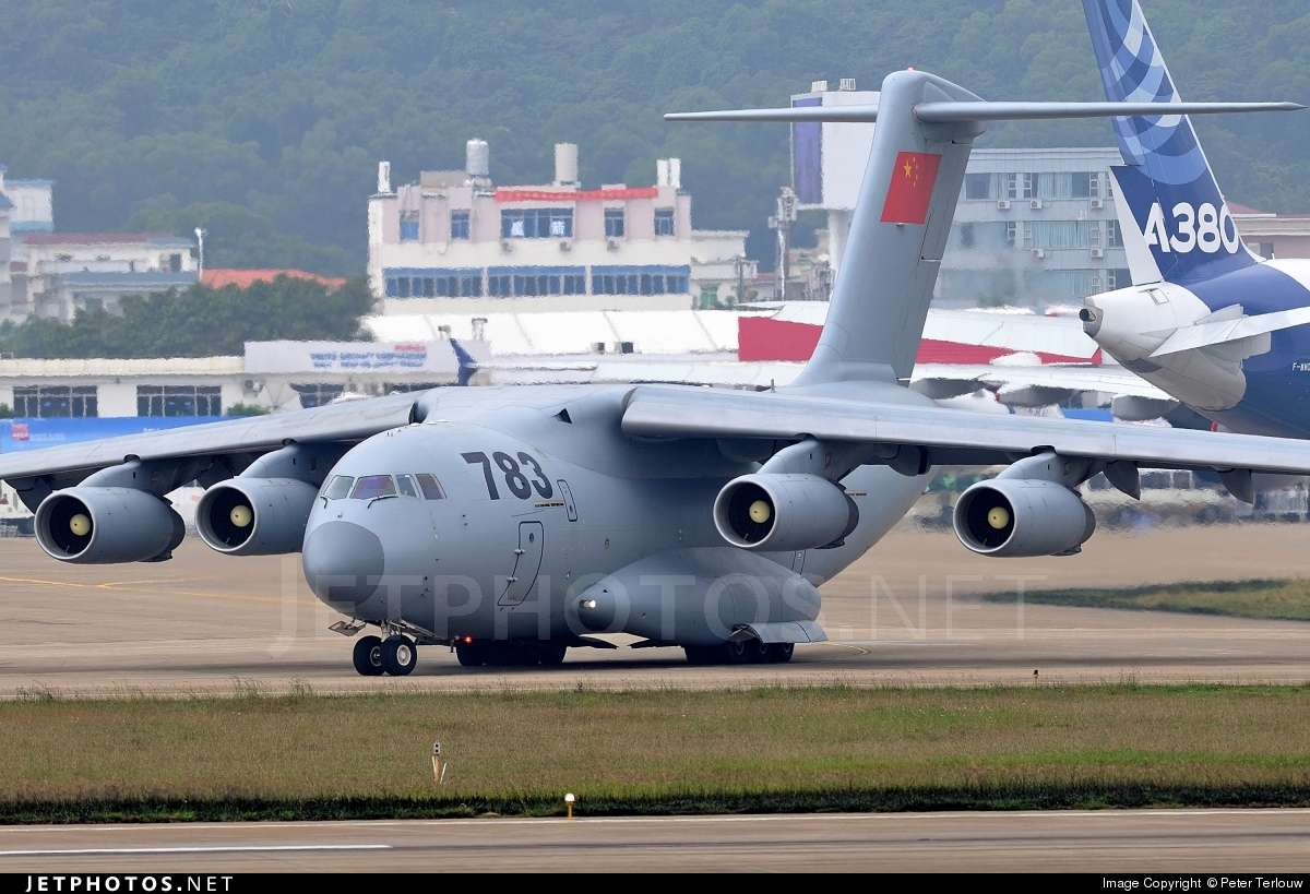 The third serial military transport aircraft Xian Y-20 in Zhuhai and many more interesting 88