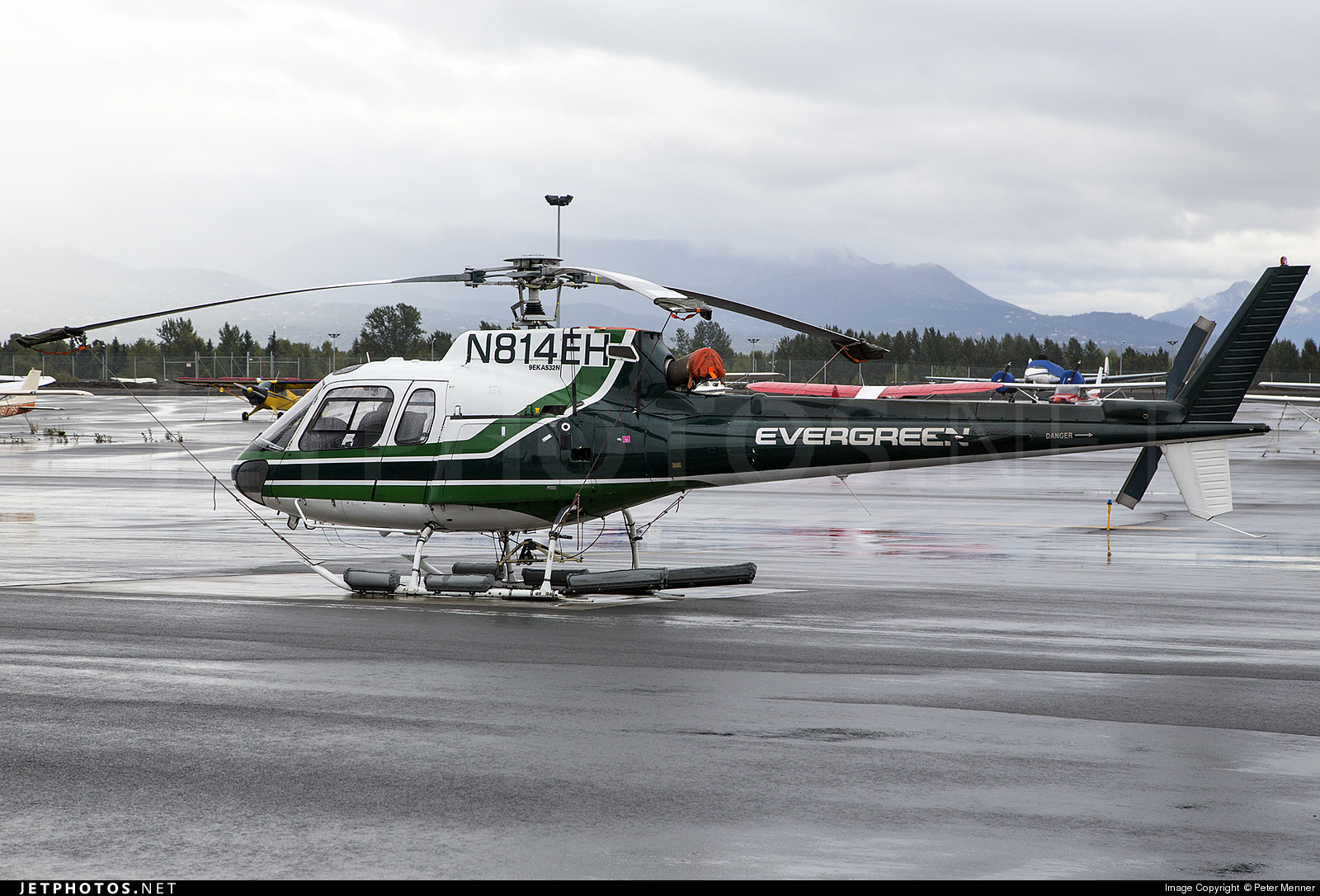 N814EH - Eurocopter AS 350B2 Ecureuil - Evergreen Helicopters