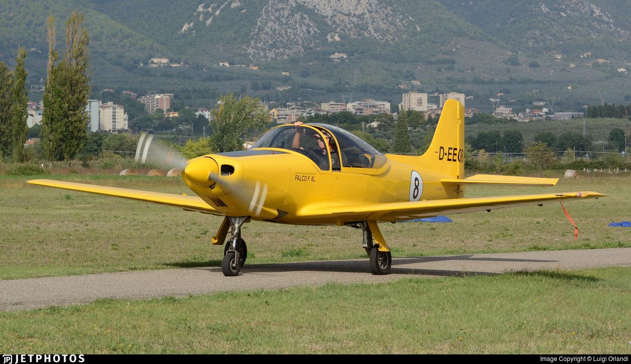 D-EEOB - Aviamilano F8L Falco - Private