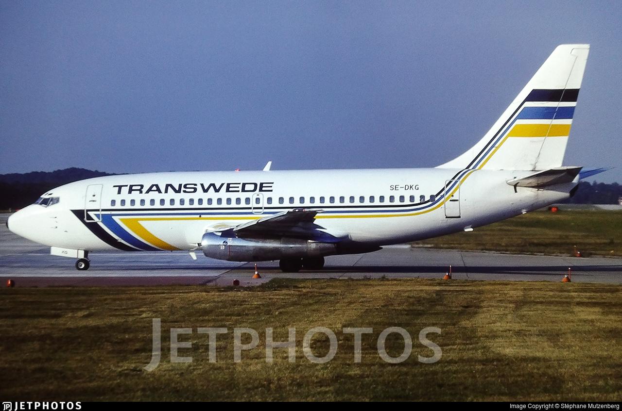SE-DKG - Boeing 737-205 - Transwede Airways