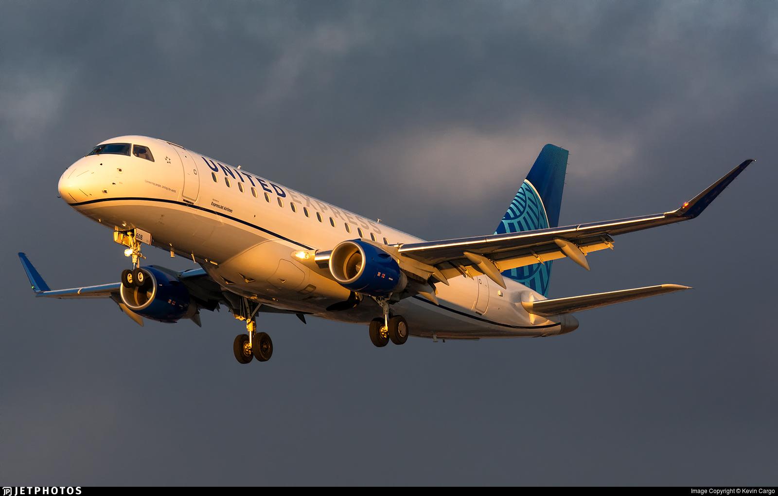 N608UX - Embraer 170-200LL - United Express (ExpressJet Airlines)