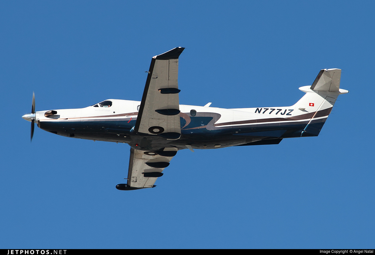 N777JZ - Pilatus PC-12/47 - Private