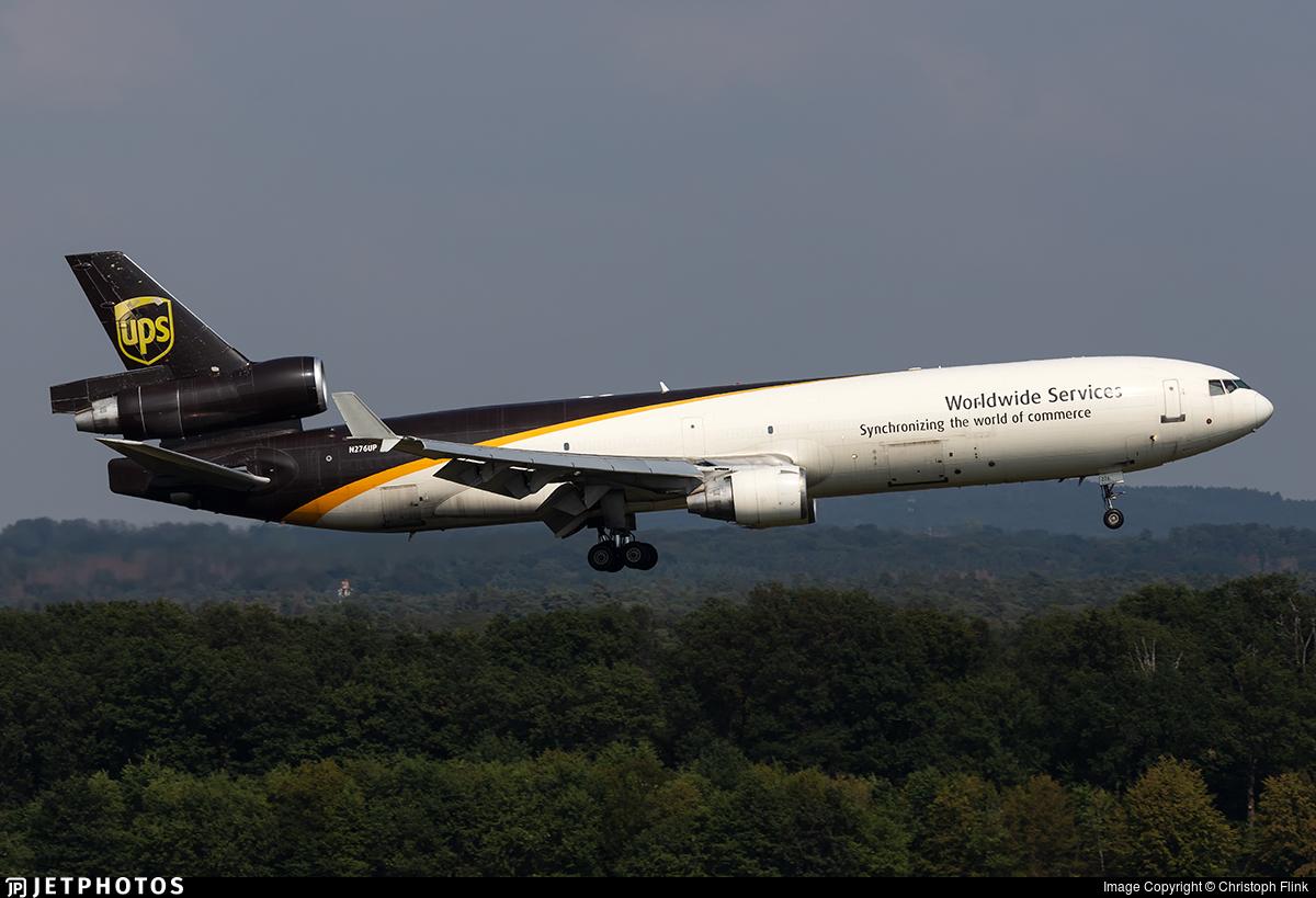 N276UP - McDonnell Douglas MD-11(F) - United Parcel Service (UPS)