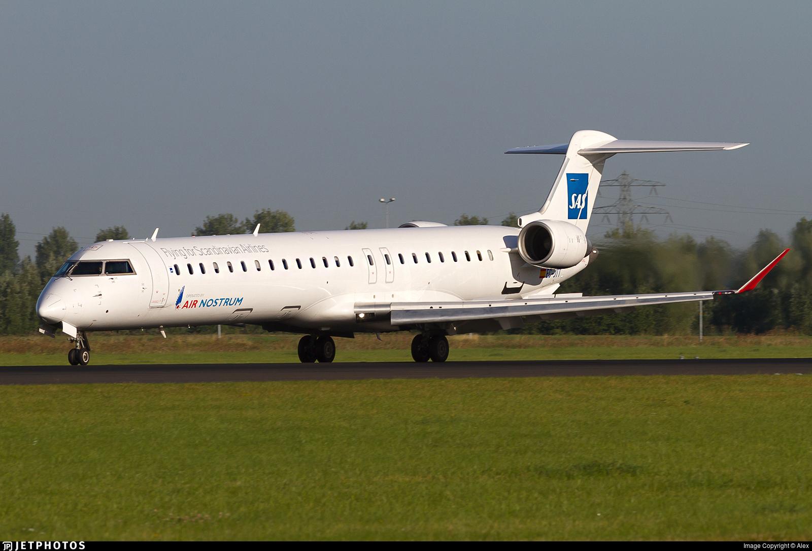 EC-JTT - Bombardier CRJ-900ER - Scandinavian Airlines (SAS) (Air Nostrum)
