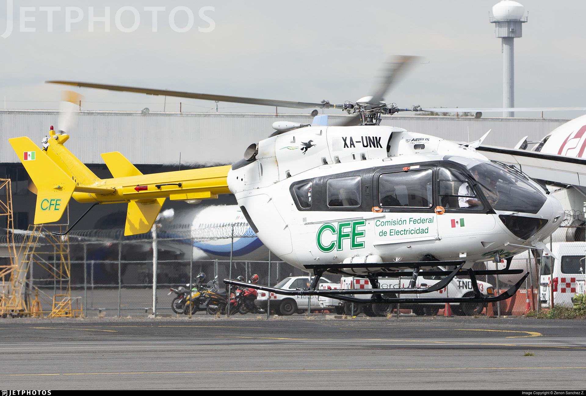 XA-UNK - Eurocopter EC 145 - Transportes Aéreos Pegaso