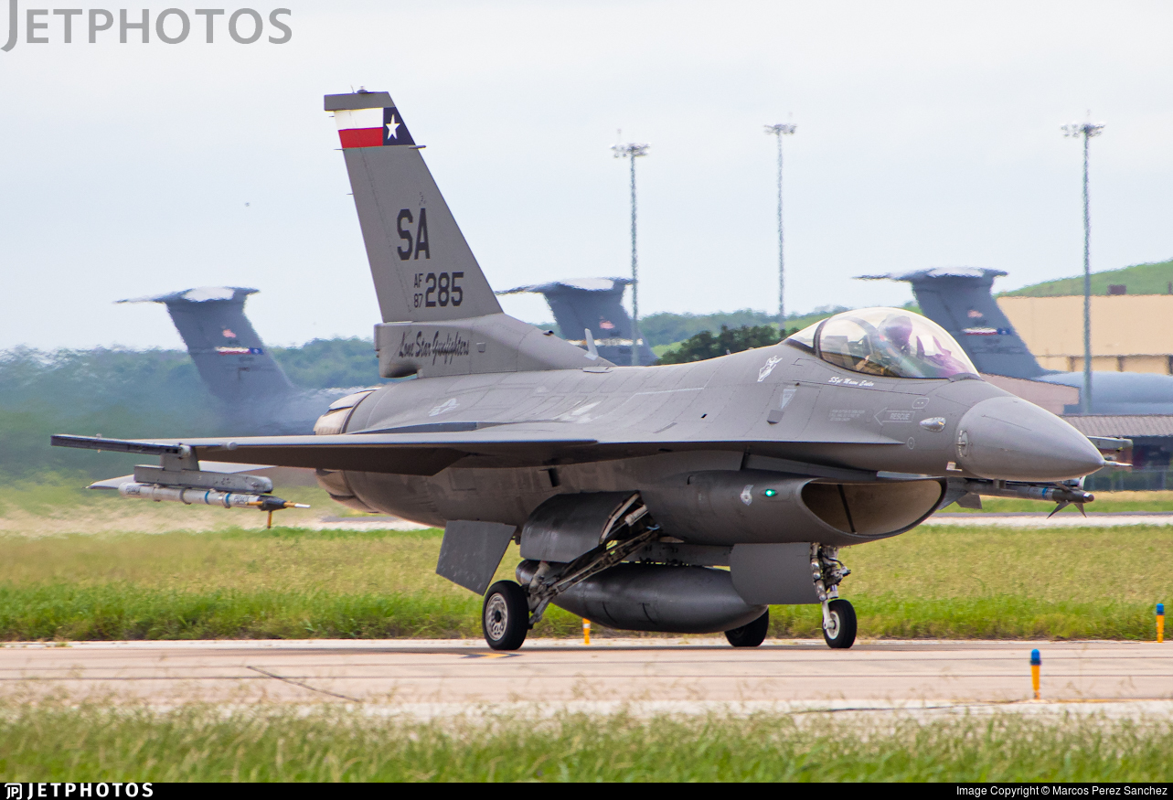 87-0285 - General Dynamics F-16C Fighting Falcon - United States - US Air Force (USAF)