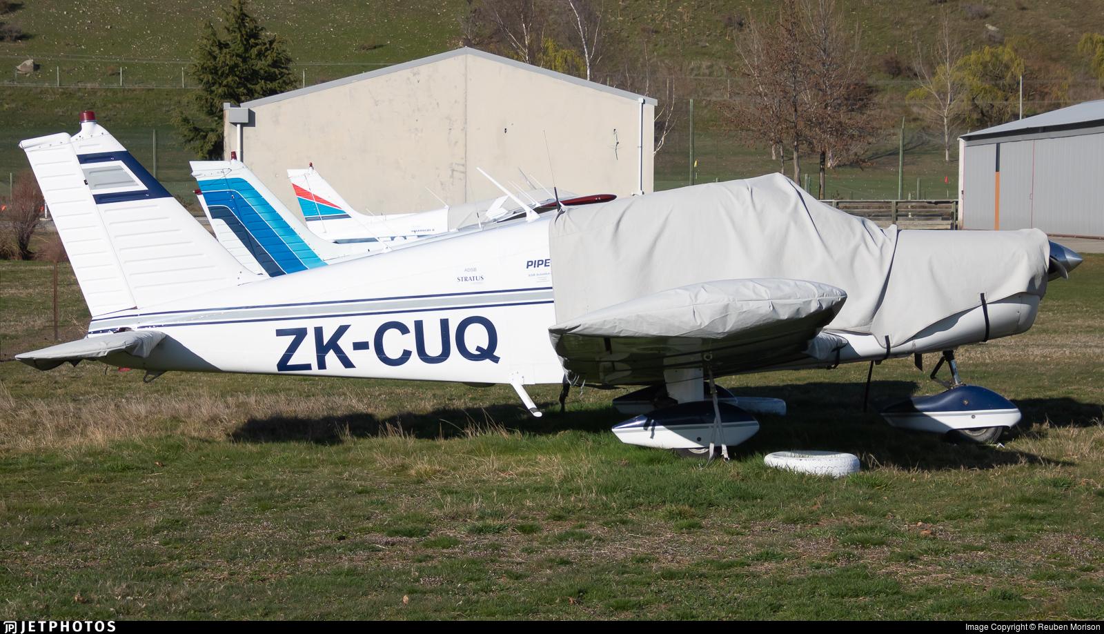 ZK-CUQ - Piper PA-28-140 Cherokee C - Private