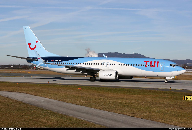 G-FDZB - Boeing 737-8K5 - TUI