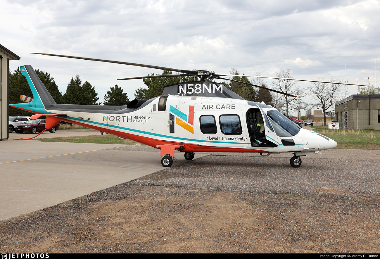 N58NM - Agusta A109S Grand - North Memorial Health Care