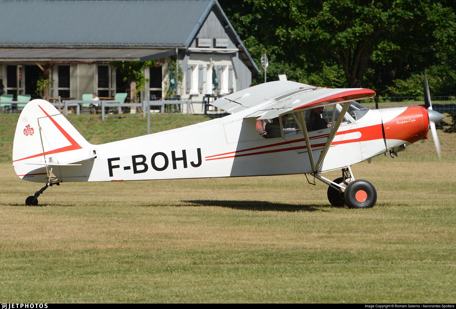F-BOHJ - Piper PA-18-150 Super Cub - Aero Club - Icaria
