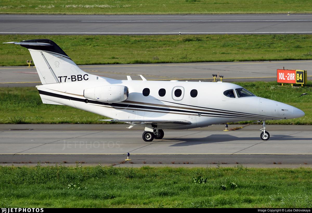 T7-BBC - Hawker Beechcraft 390 Premier IA - Private