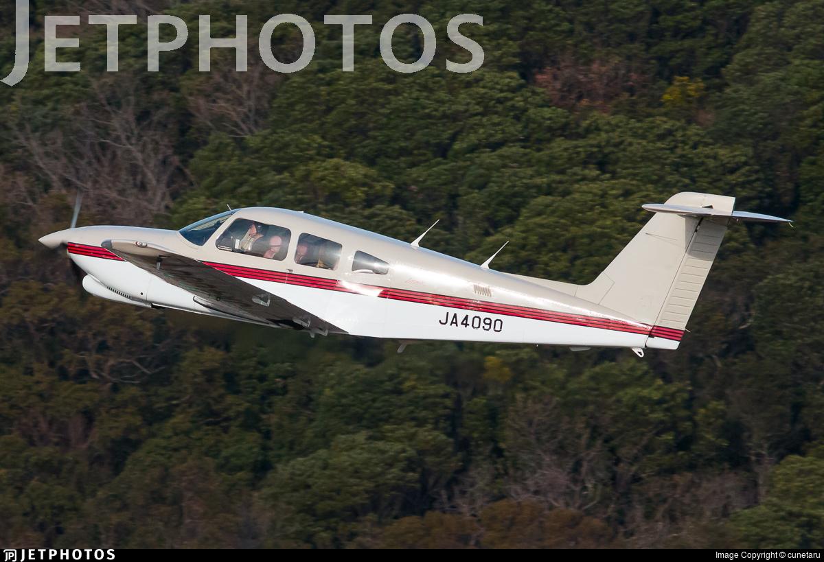 JA4090 - Piper PA-28RT-201T Turbo Arrow IV - Private
