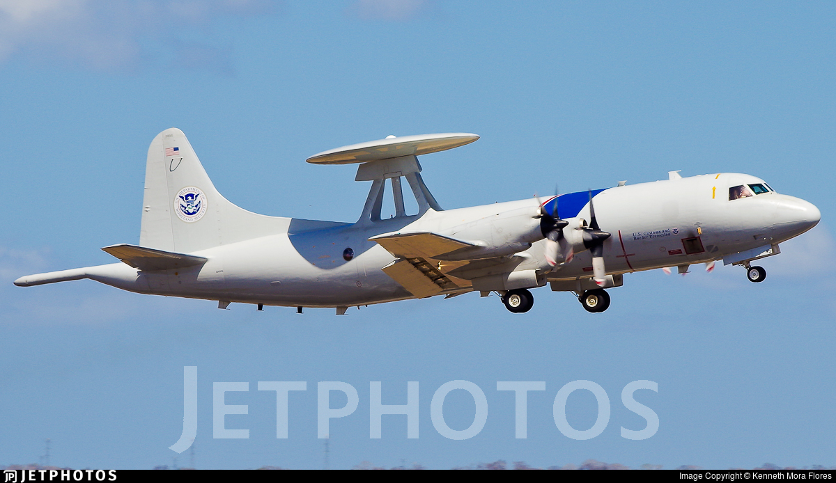 N146CS - Lockheed P-3B Orion AEW - United States - US Customs Service
