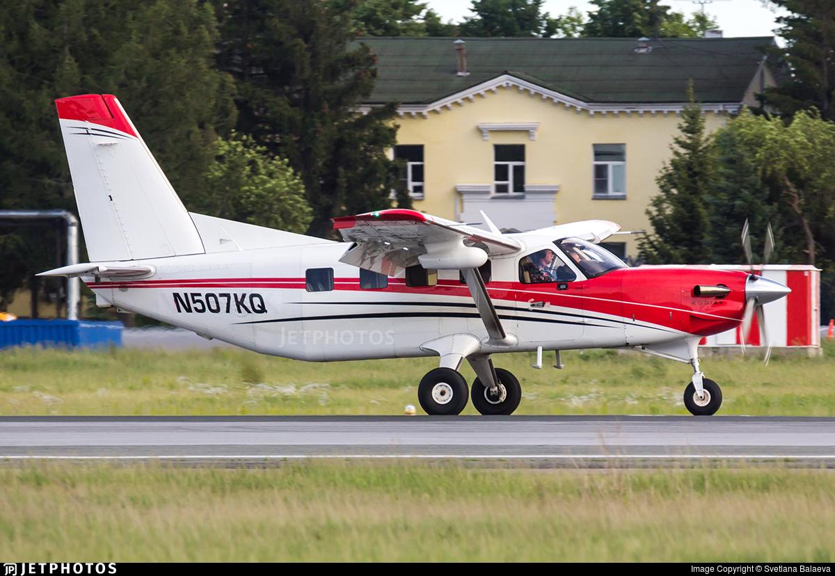 N507KQ - Quest Aircraft Kodiak 100 - Private