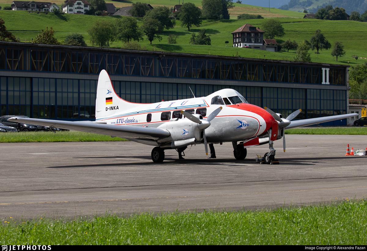 D-INKA - De Havilland DH-104 Dove - LTU