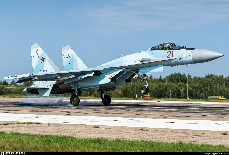 RF-81761 - Sukhoi Su-35S - Russia - Air Force