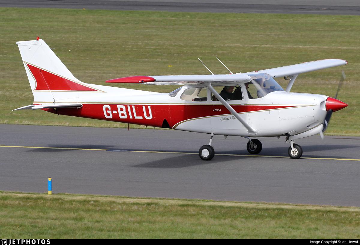 G-BILU - Cessna 172RG Cutlass RG II - Private
