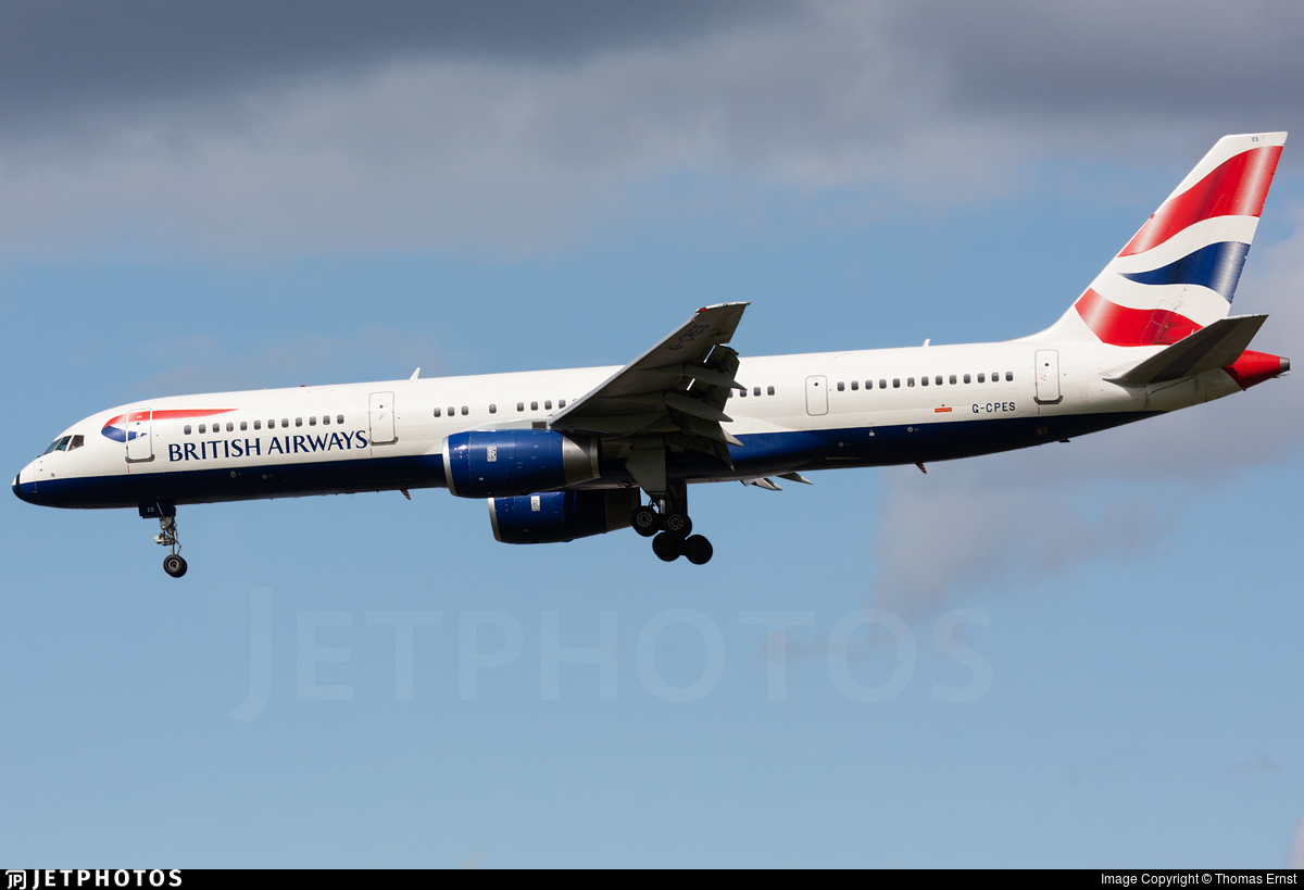 G-CPES - Boeing 757-236 - British Airways