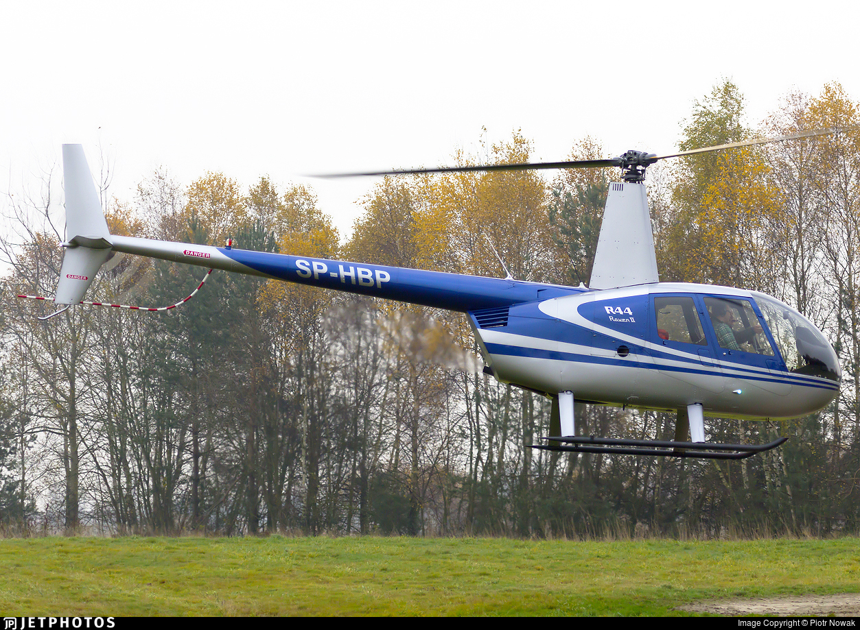 SP-HBP - Robinson R44 Raven II - Private