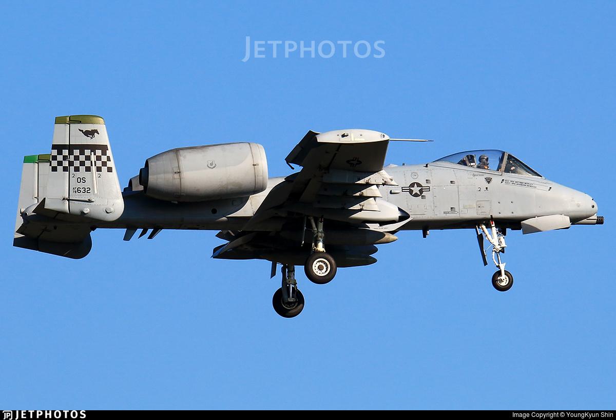 78-0632 - Fairchild A-10C Thunderbolt II - United States - US Air Force (USAF)