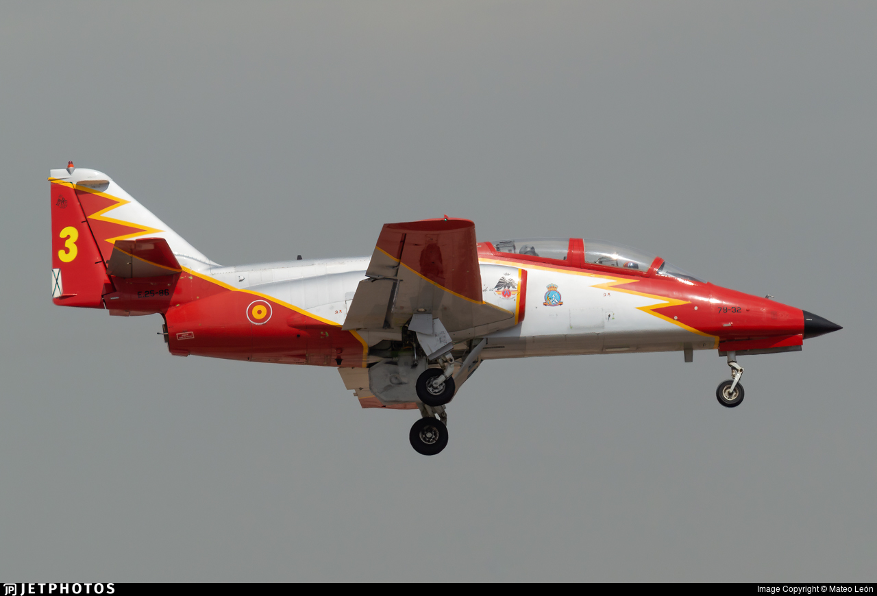 E.25-86 - CASA C-101EB Aviojet - Spain - Air Force