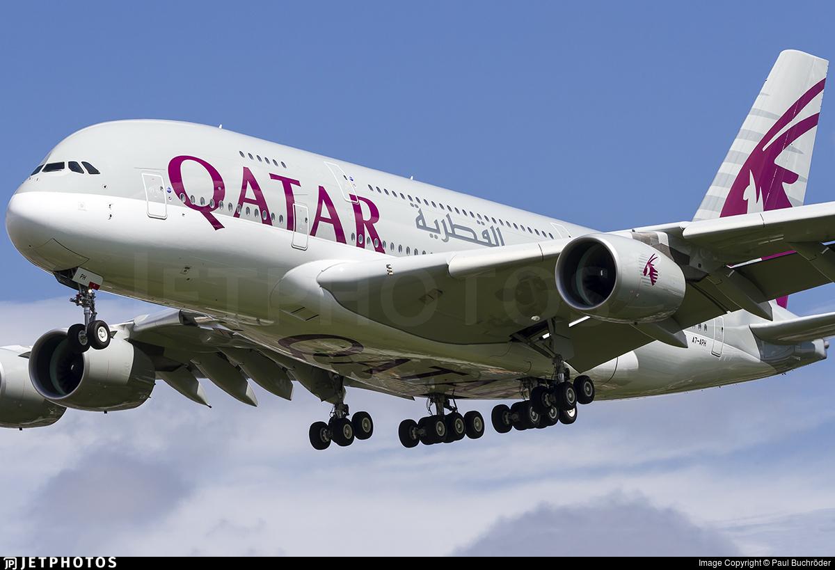 a7aph airbus a380861 qatar airways paul buchr246der