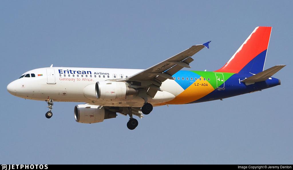 LZ-AOA - Airbus A319-111 - Eritrean Airlines (BH Air)