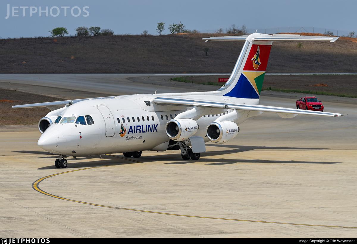 ZS-SSI | British Aerospace Avro RJ85 | Airlink | Otto Weydmann