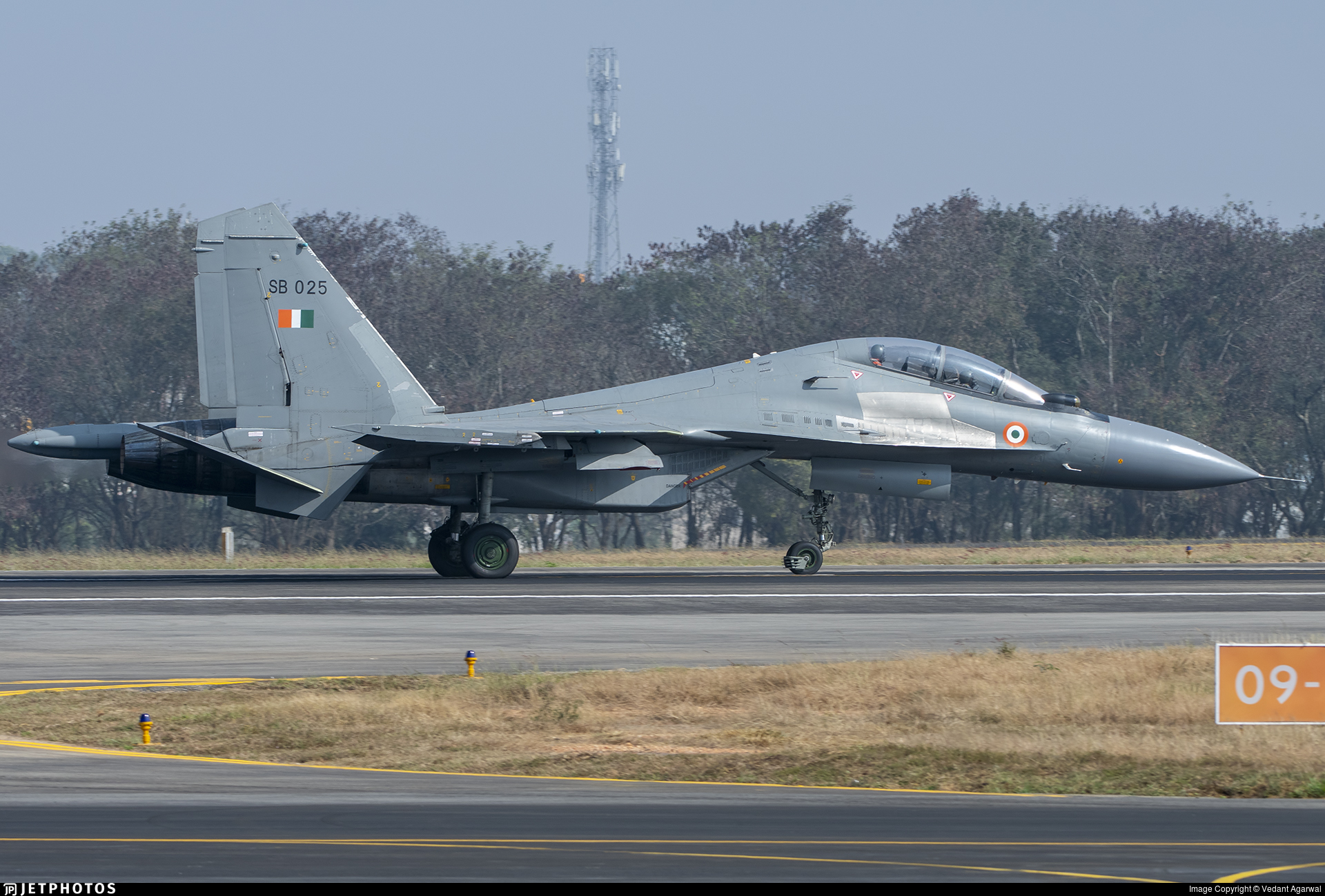SB025 - Sukhoi Su-30MKI - India - Air Force