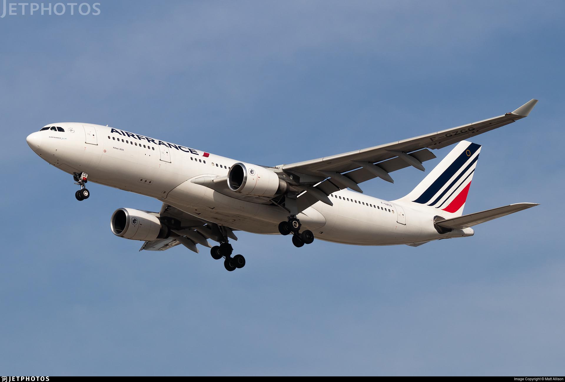 F-GZCG - Airbus A330-203 - Air France