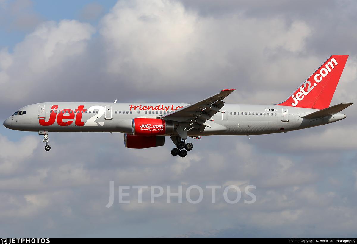 G-LSAH - Boeing 757-21B - Jet2.com