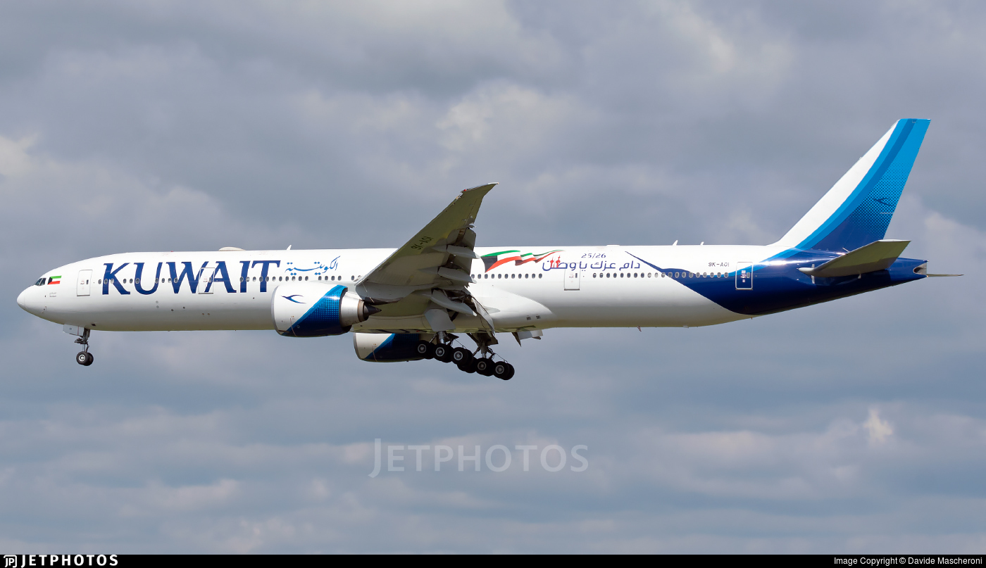 9K-AOI - Boeing 777-369ER - Kuwait Airways