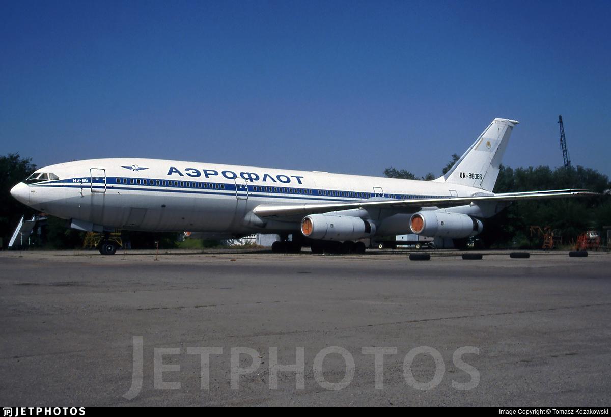 UN-86086 - Ilyushin IL-86 - Aeroflot