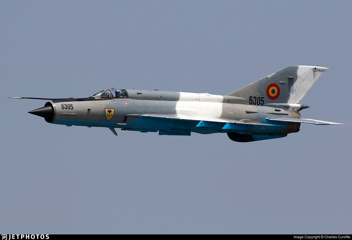 6305 - Mikoyan-Gurevich MiG-21MF Lancer C - Romania - Air Force