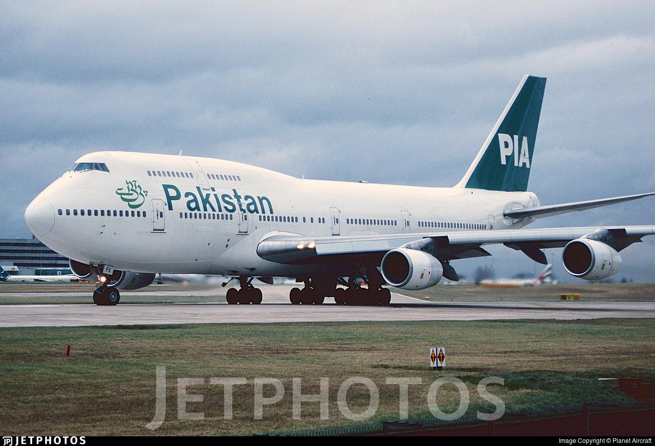 AP-BFX - Boeing 747-367 - Pakistan International Airlines (PIA)